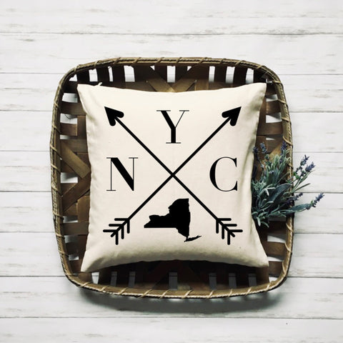 NYC Custom Handmade Pillow - HoMade Studio