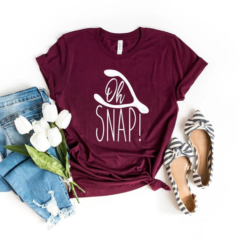 Oh Snap Thanksgiving Shirt - HoMade Studio