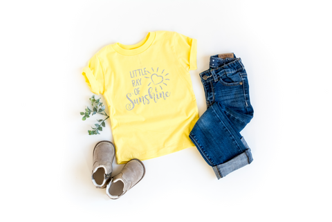 Little Ray of Sunshine Kids Tee - HoMade Studio