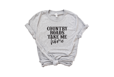 Country Roads Take Me Home Shirt - HoMade Studio