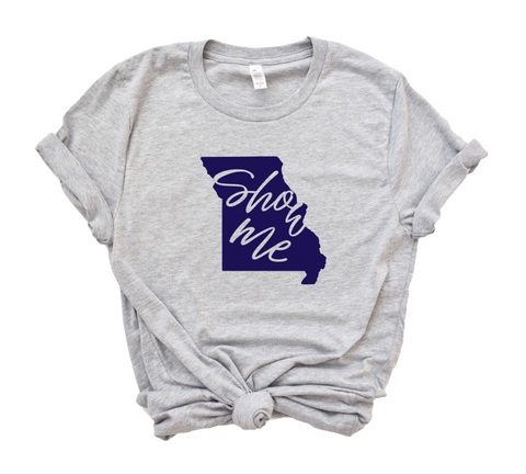 Missouri State Shirt - The Show Me State - HoMade Studio