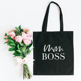 Mom Boss Canvas Tote - HoMade Studio
