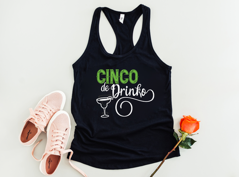 Cinco De Drinko Tank Top - HoMade Studio