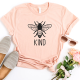 Bee Kind Women's Graphic T-Shirt - HoMade Studio