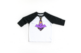 Kid's Halloween T-Shirt | Bat Tie