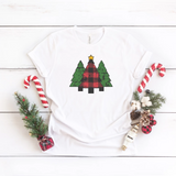 Three Distressed Christmas Trees Shirt, Christmas Shirt