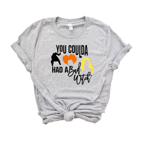 You Coulda Had A Bad Witch Halloween Shirt - HoMade Studio