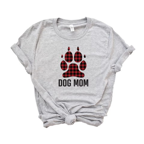 Dog Mom Christmas Shirt For Women