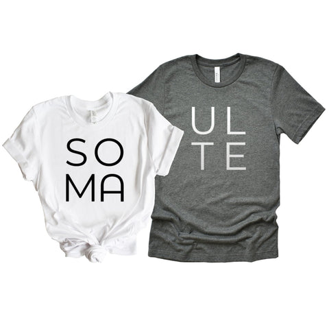 Soul Mates Couples Shirts - HoMade Studio