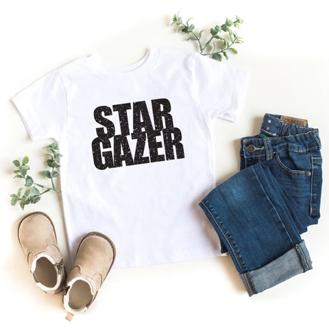 Star Gazer Kid's T-Shirt - HoMade Studio