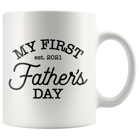 My First Father's Day Coffee Mug - HoMade Studio