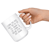 Cleaning Your House Funny Mom Life Mug - HoMade Studio