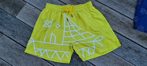 Yellow Swim Trunks