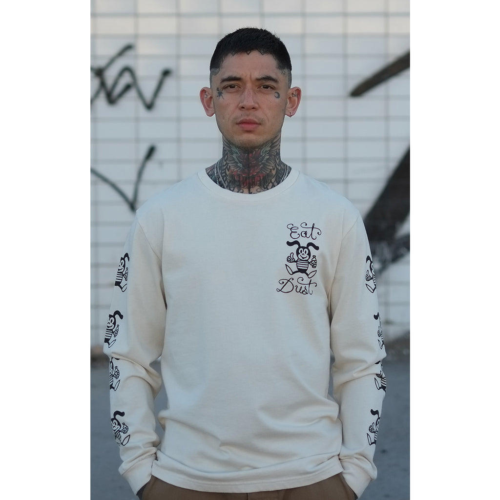 T-Bee Dust Long Sleeve Off White