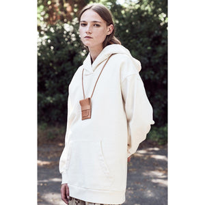 G.o.D Maxi Hoody American Fleece Natural
