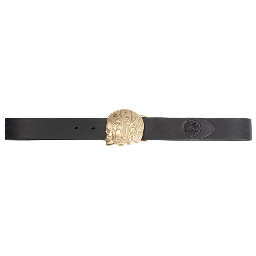 X Belt Skull Logo Black