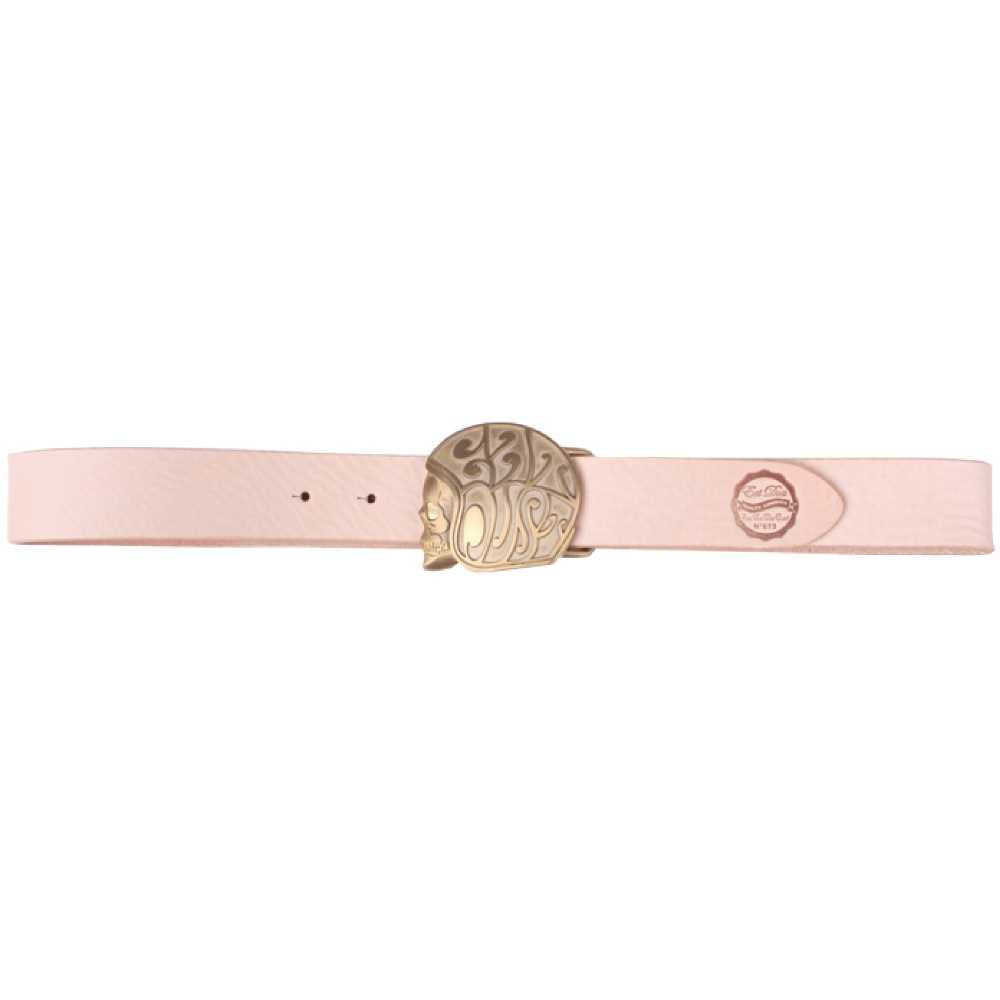 X Belt Skull Logo Natural