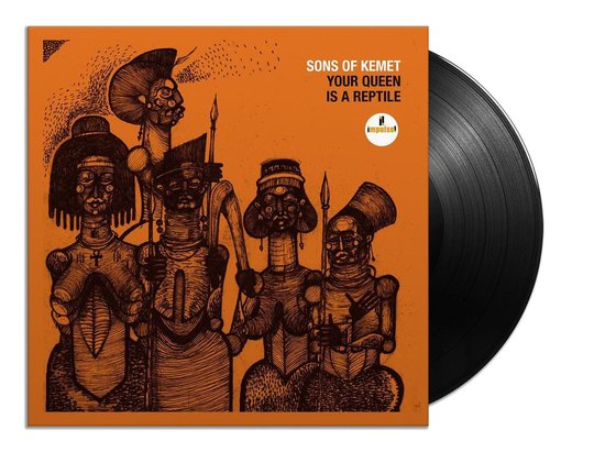 LP- Sons of Kemet Your Queen is a Reptile (2x Lp)