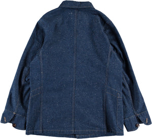 G.o.D 673 Jacket Nepping Denim Indigo