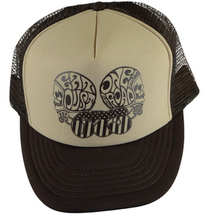 X Trucker  Cap 673 Brown