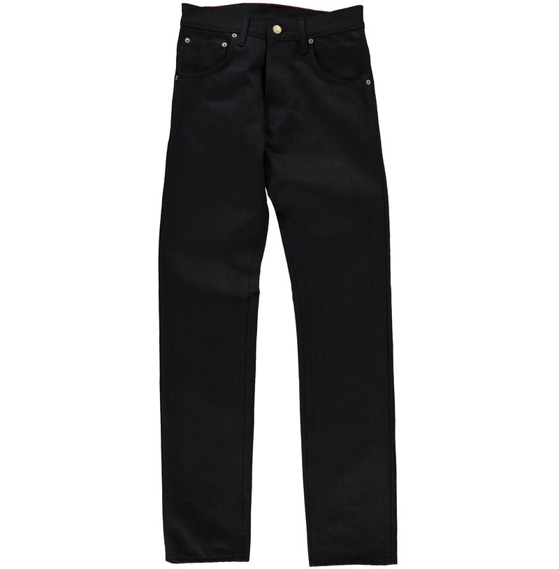 Regular Straight Black Denim L34