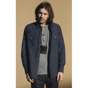 Western Shirt Military Chambray Indigo