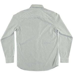 G.o.D Button Down Wallstreet Stripe-back view