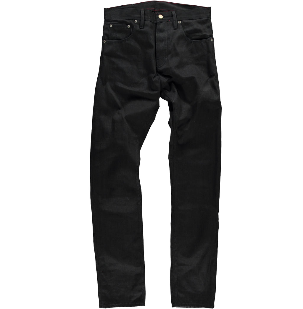 Lose Tapered Black Denim L34