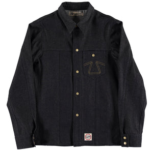 Wolf Shirt Broken Twill Denim