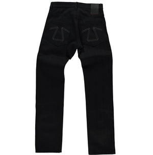 Loose Straight Black Denim L34