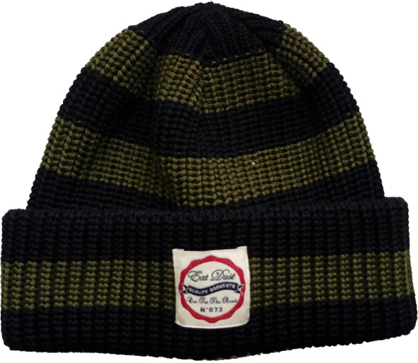 X Chopper Beanie Stripe Wool