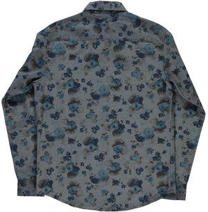 Shirt Combat Faded Flowers