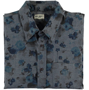 Combat Shirt Faded Flowers-folded view