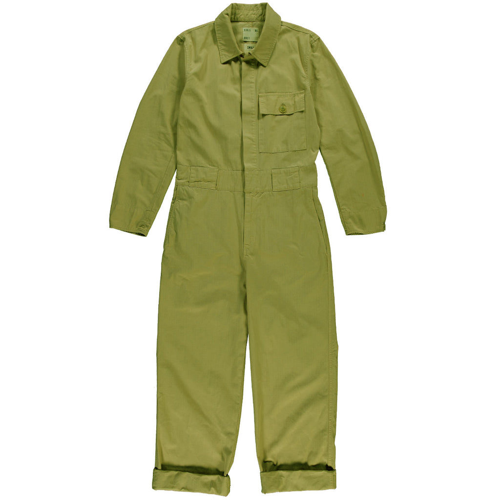 G.o.D Coveralls Ripstop Organic Cotton Olive