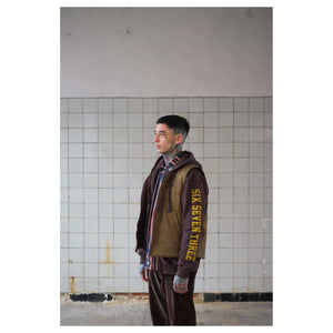 Sweat Hoodie SST Heavy Fleece Brown