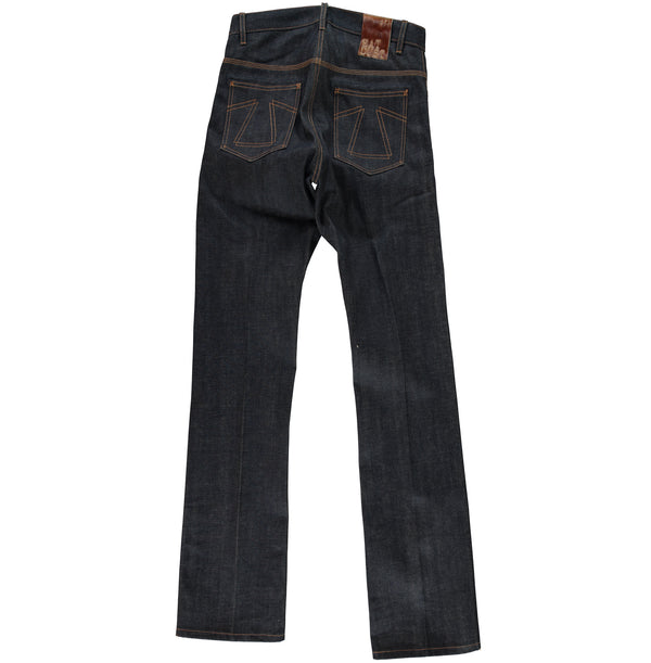 Eat Dust - BootCut Selvedge Denim - back view