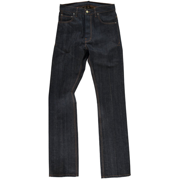 Eat Dust - BootCut Selvedge Denim - front view