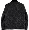 Chore Liner Jacket 673 Black Nylon-back view
