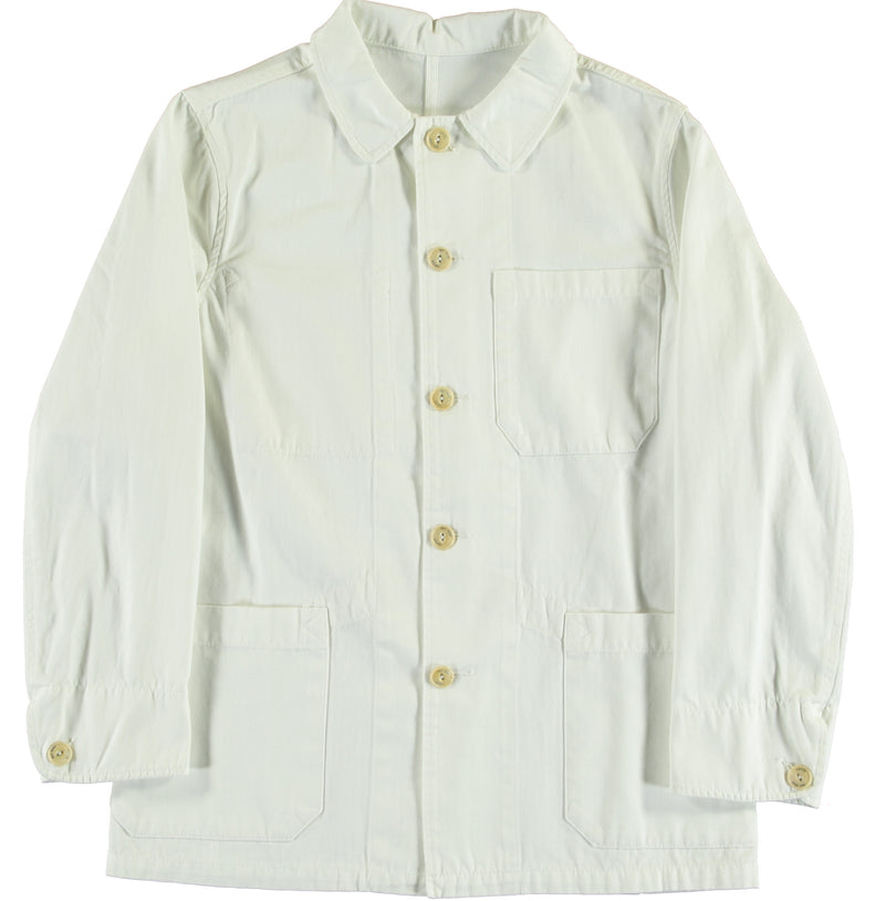 G.o.D 673 Jacket HBT White-fit view back