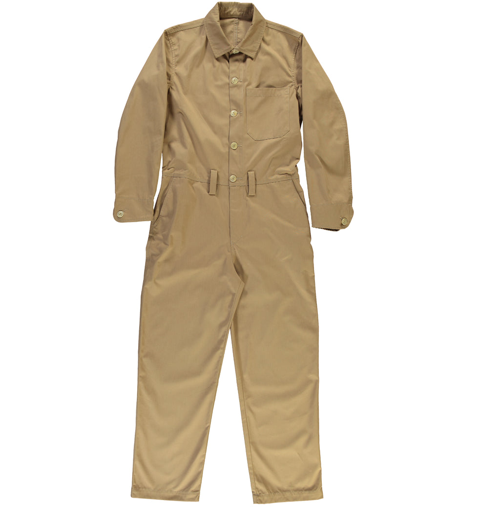G.o.D Coveralls Madrid Sand-front view
