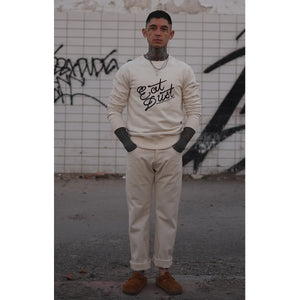 Sweat Eat Dust Graf Off White