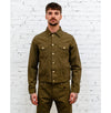 Trucker Jacket HBT Dark Olive