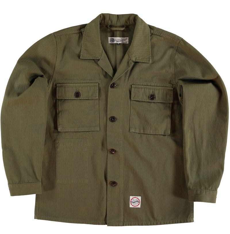 HBT Troy Shirt Dark Olive