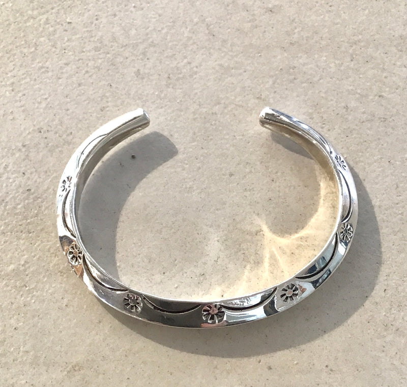 Native Bracelet Stamped 8mm