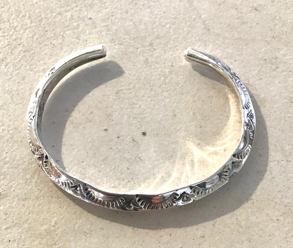 Native Bracelet Stamped 6mm