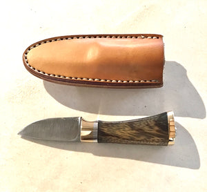 Boot Knife by Niels Maple Wood