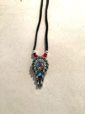 Native Rainbow Man Pendant