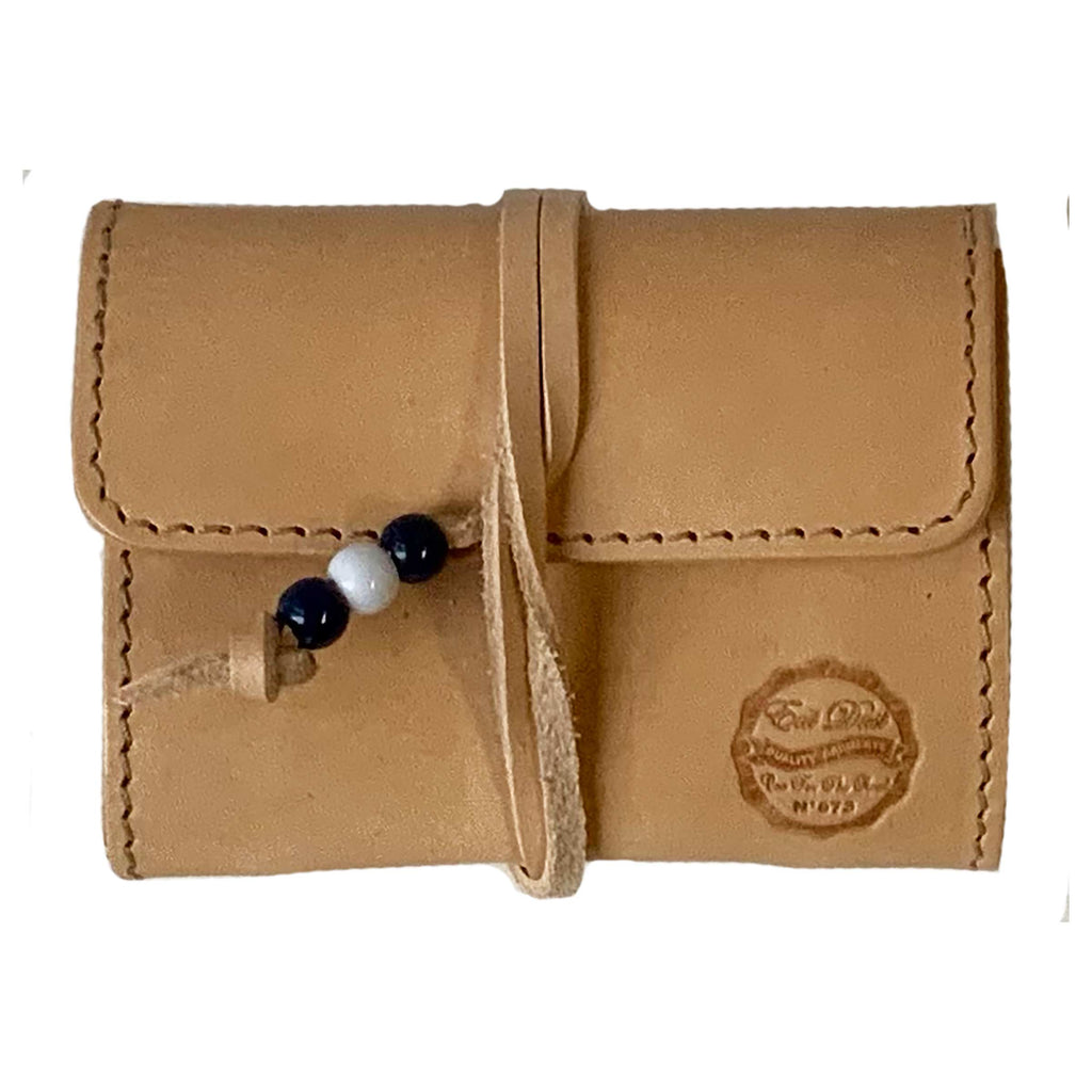 X Stach Pouch Leather Natural