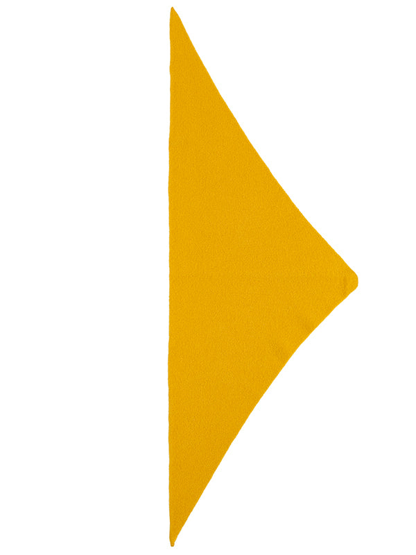 JG- Plain triangle neckerchief Golden Eye