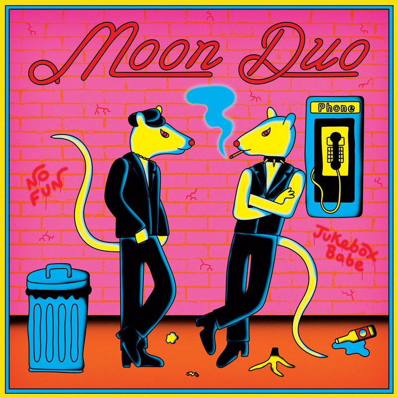 LP - Moon Duo: No Fun/Jukebox